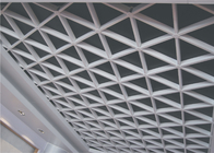 unique Lattice Suspended metal ceiling grid For Office / civil buildings