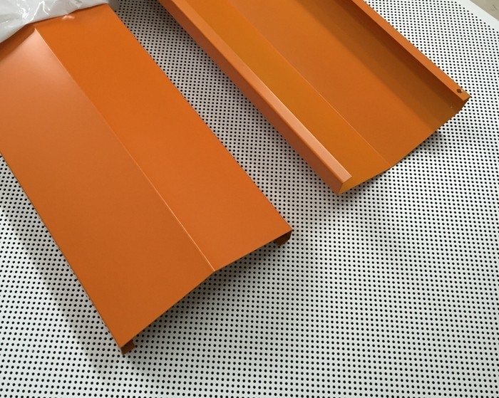 Weather Resistant Powder Coated Aluminum U Shaped Strip Residential Ceiling Tiles