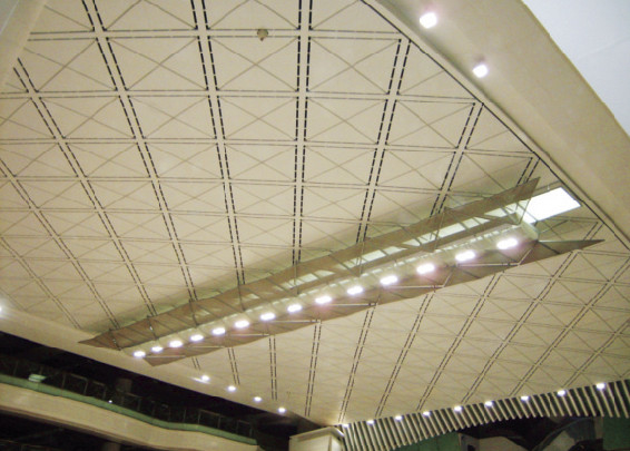 T bar Lay In Ceiling Tiles Aluminum / Perforated Ceiling Tiles Grid For Indoor square ceiling