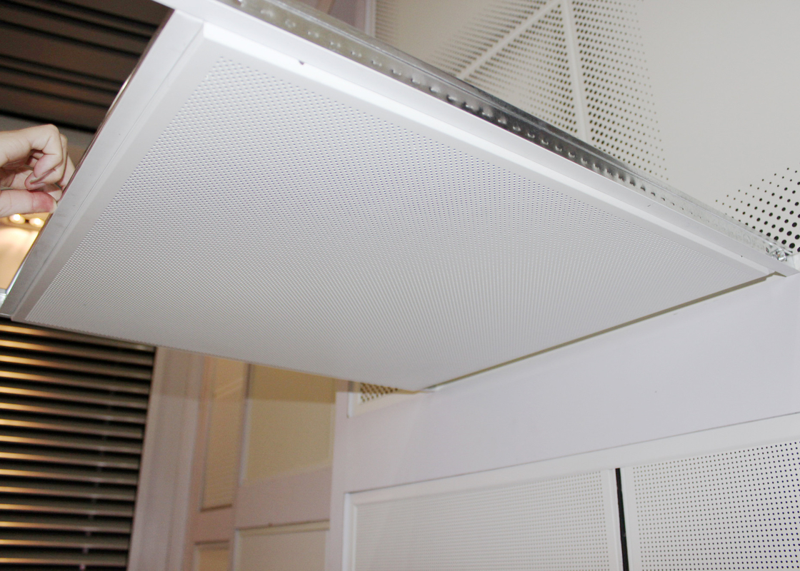 False Suspended Lay In Ceiling Tiles Mount with Tee Bar , Main Cross Grid