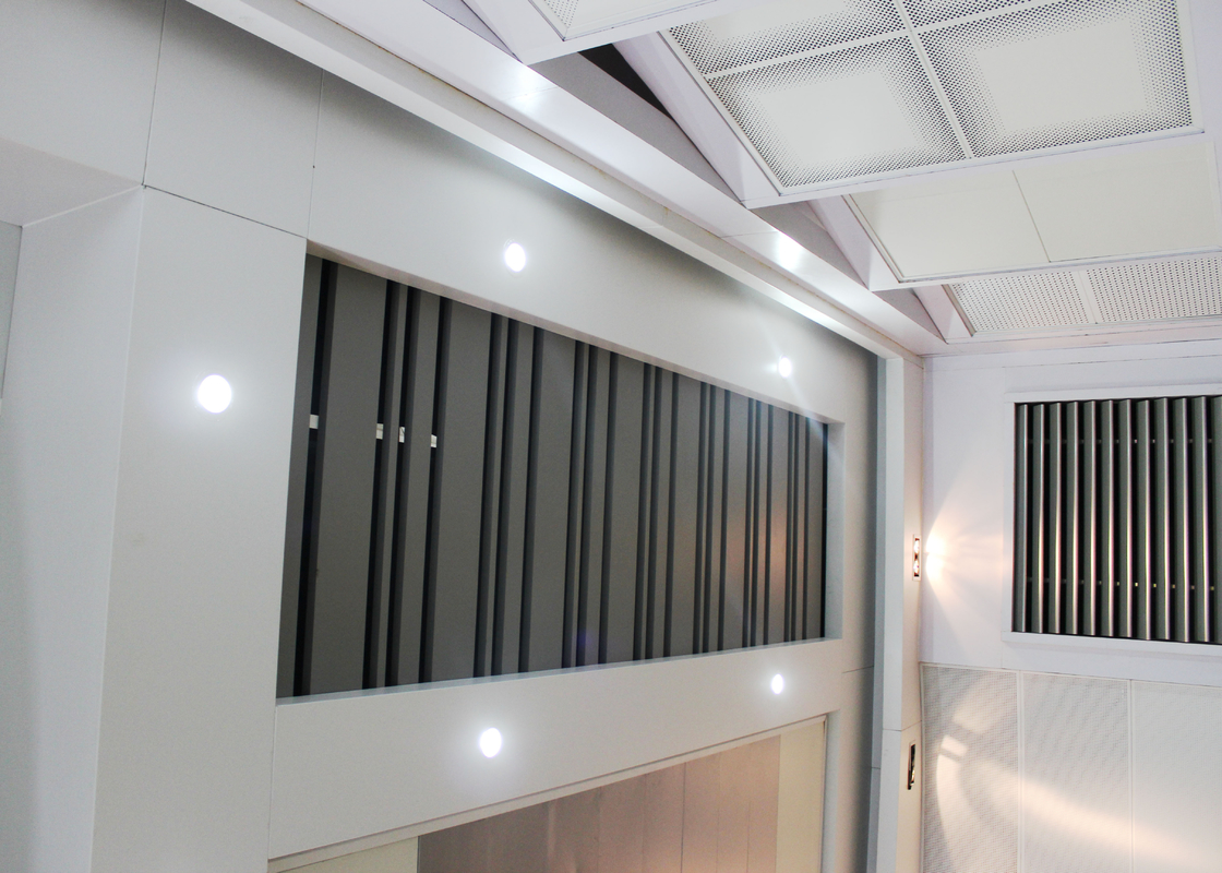 Metal Open Frame Linear Metal Ceiling Install with Steel Suspended Keel System